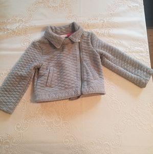 Girls Grey Cat & Jack Jacket
